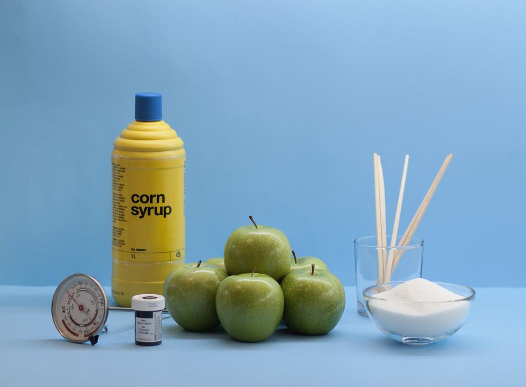 ingredients-black-candy-apples